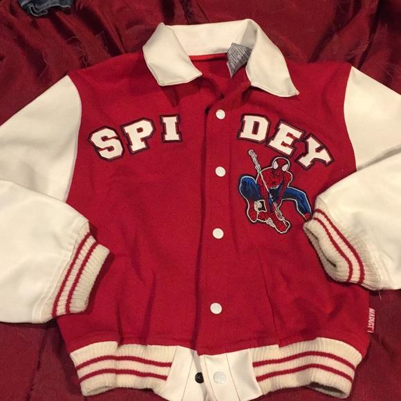 Spider Man letterman jacket
